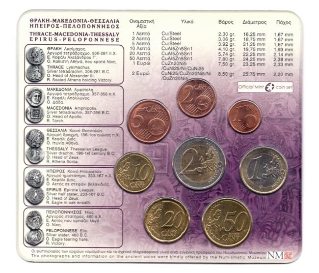 (EUR08.CofBU&FDC.2008.M-S1.000000002) BU coin set Greece 2008 Back (zoom)