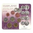 (EUR08.CofBU&FDC.2008.M-S1.000000002) Mini-set BU Grèce 2008 Recto