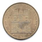 (FMED.Méd.souv.2013.CuAlNi2.000000004) Jeton touristique - Cathédrale Saint-Jean de Lyon Avers