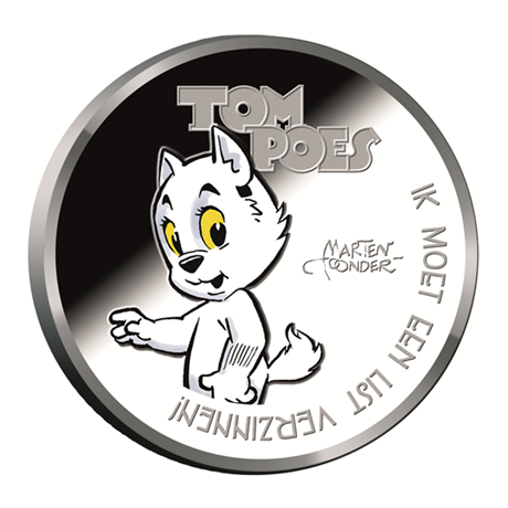 Médaille argent BE 2016 - Tom Poes Avers