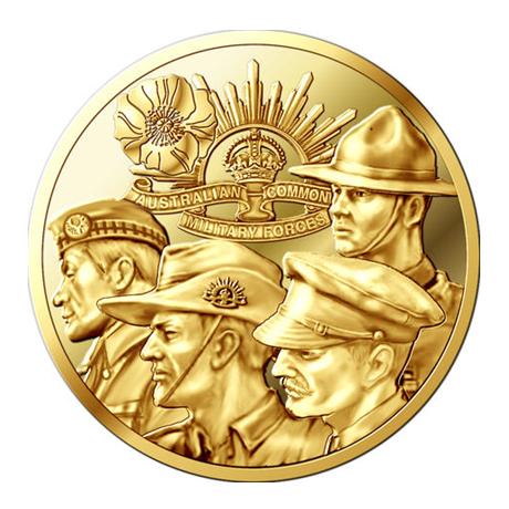 Jeton événementiel - Soldats de la Grande Guerre Avers