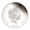 2 dollars Niue 2016 1 once argent BE - Pocahontas Avers