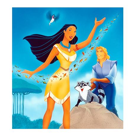 2 dollars Niue 2016 1 once argent BE - Pocahontas (visuel complémentaire)