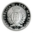 5 euro Saint-Marin 2016 argent BE - Giovanni Bellini Avers
