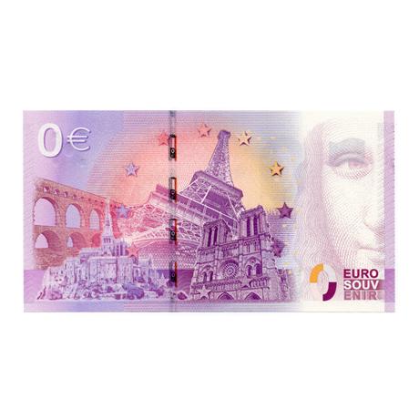 (EURBILLS.000.2015.RF.specimen.E.cp5.1611) Spécimen 0 euro France 2015 Verso