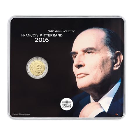 2 euro commémorative France 2016 BU - François Mitterrand