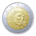 2 euro commémorative France 2016 - François Mitterrand
