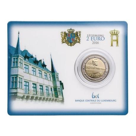 2 euro commémorative Luxembourg 2016 BU - Pont Grand-Duchesse Charlotte