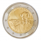 2 euro commémorative Monaco 2016 BE - Charles III Avers