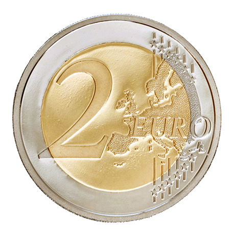 2 euro commémorative Monaco 2016 BE - Charles III Revers