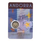 (EUR24.ComBU&BE.2015.200.BU.COM1.cp5.82887) 2 euro commémorative Andorre 2015 BU - Accord douanier avec l'UE Recto