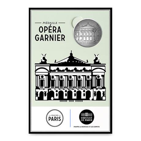 (FMED.Méd.tourist.n.d._2016_.CuNi10) Jeton touristique - Opéra Garnier Recto