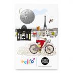 (FMED.Méd.tourist.n.d._2016_.CuNi11) Jeton touristique - Parisien à Vélib Recto