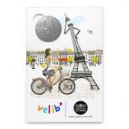 (FMED.Méd.tourist.n.d._2016_.CuNi12) Jeton touristique - Parisienne à Vélib Recto