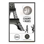 (FMED.Méd.tourist.n.d._2016_.CuNi2) Jeton touristique - Champ de Mars Recto