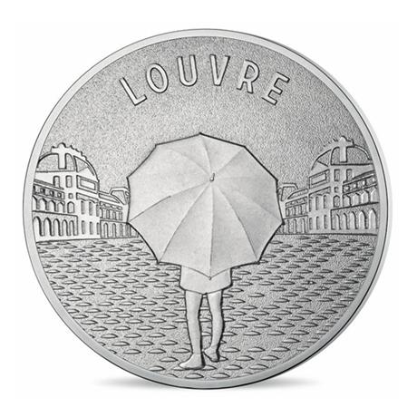 (FMED.Méd.tourist.n.d._2016_.CuNi7) Jeton touristique - Musée du Louvre Avers