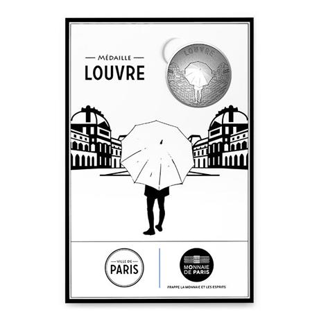 (FMED.Méd.tourist.n.d._2016_.CuNi7) Jeton touristique - Musée du Louvre Recto