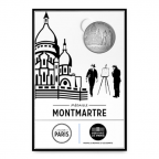 (FMED.Méd.tourist.n.d._2016_.CuNi8) Jeton touristique - Montmartre Recto