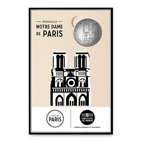 (FMED.Méd.tourist.n.d._2016_.CuNi9) Jeton touristique - Notre-Dame de Paris Recto