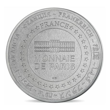 (FMED.Méd.tourist.n.d._2016_.CuNi9) Jeton touristique - Notre-Dame de Paris Revers