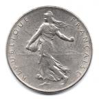 (FMO.1.1974.27.16.000000001) 1 Franc Semeuse 1974 Avers