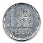(W064.001.1986.1.5.000000001) 1 Peseta Juan Carlos Ier 1986 Revers