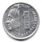 (W064.001.1992.1.4.000000001) 1 Peseta Juan Carlos Ier 1992 Avers