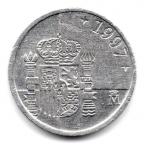 (W064.001.1997.1.9.000000002) 1 Peseta Juan Carlos Ier 1997 Revers