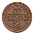 (W176.0500.1972.1.4.000000001) 50 Centavos aux cinq écussons en croix 1972 Avers