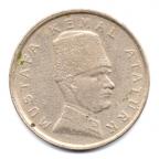 (W228.100k.1999.1.1.000000001) 100000 Lira Mustafa Kemal Atatürk 1999 Avers