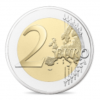 2 euro commémorative France 2016 BE - François Mitterrand Revers