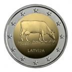 2 euro commémorative Lettonie 2016 - Brune de Lettonie