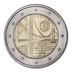 2 euro commémorative Portugal 2016 - Pont du 25 avril Avers