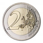 2 euro commémorative Portugal 2016 - Pont du 25 avril Revers
