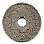(FMO.025.1930.15.14.000000001) 25 centimes Lindauer 1930 Avers