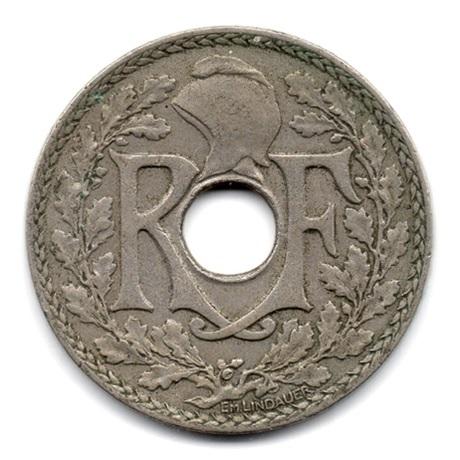 (FMO.025.1930.15.14.000000001) 25 centimes Lindauer 1930 Avers