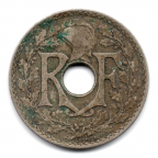 (FMO.025.1931.15.15.000000001) 25 centimes Lindauer 1931 Avers