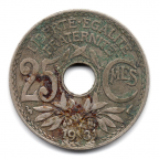 (FMO.025.1931.15.15.000000001) 25 centimes Lindauer 1931 Revers