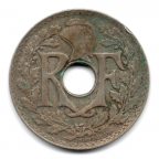 (FMO.025.1933.15.17.000000001) 25 centimes Lindauer 1933 Avers