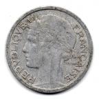 (FMO.1.1946.22.7.000000001) 1 Franc Morlon, légère 1946 Avers