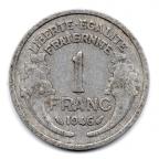 (FMO.1.1946.22.7.000000001) 1 Franc Morlon, légère 1946 Revers