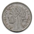 (FMO.1.1948_B.22.12.000000001) 1 Franc Morlon, légère 1948 B Avers