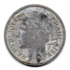 (FMO.1.1949_B.22.14.000000001) 1 Franc Morlon, légère 1949 B Avers