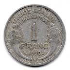 (FMO.1.1950_B.22.16.000000001) 1 Franc Morlon, légère 1950 B Revers