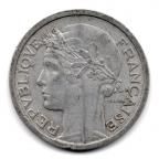 (FMO.1.1957.22.17.000000001) 1 Franc Morlon, légère 1957 Avers