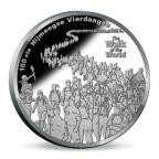 Médaille argent BE 2016 - Marche des quatre jours de Nimègue Avers