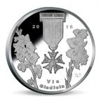 Médaille argent BE 2016 - Marche des quatre jours de Nimègue Revers