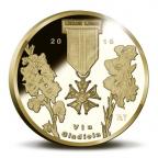 Médaille or BE 2016 - Marche des quatre jours de Nimègue Revers