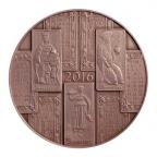 (MED10.Méd.IPZS.2016.CuSn1) Médaille bronze - Calendrier 2016 Avers
