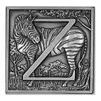 (MED10.Méd.IPZS.Ag27) Médaille argent - Z come Zebra Avers